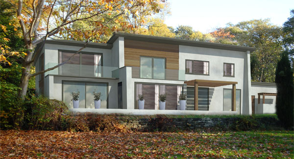 House extensions bradford architectural services in for Modern house yorkshire