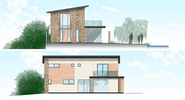 Dynamic architectural service in leeds bradford mash for Modern house yorkshire